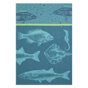 Banc De Poissons French Dish Towel