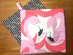 Flamingo Potholder