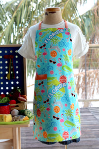 Greetings From Florida Kid's Apron