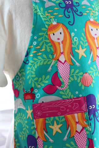 Mermaid Kid's Apron - Lagoon