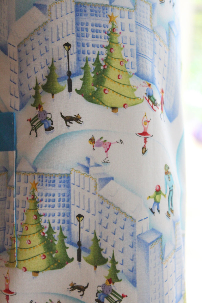 Holiday Snow-globe Kid's Apron