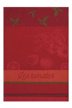 Tomates du Potager French Dish Towel