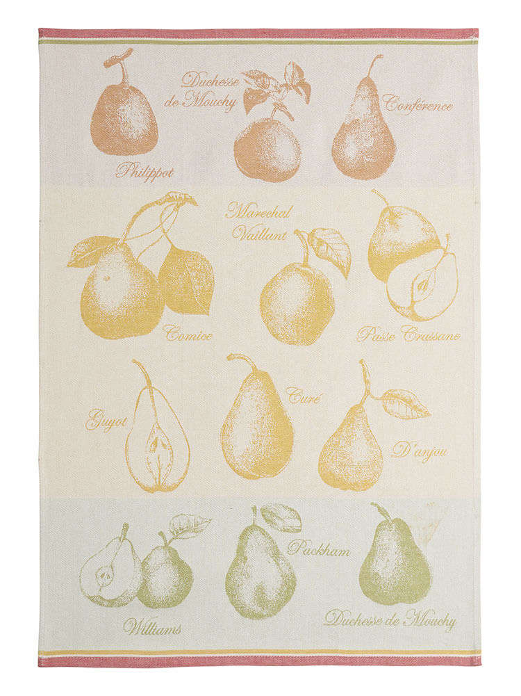 Variete De Poires French Dish Towel