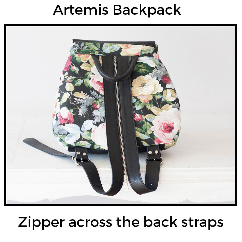 Artemis backpack with Mickey ears by milloo bags