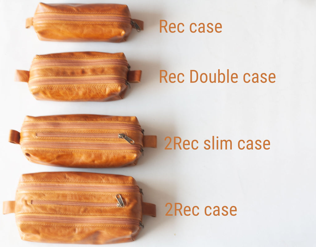 Different sizes of the Rec case by milloo