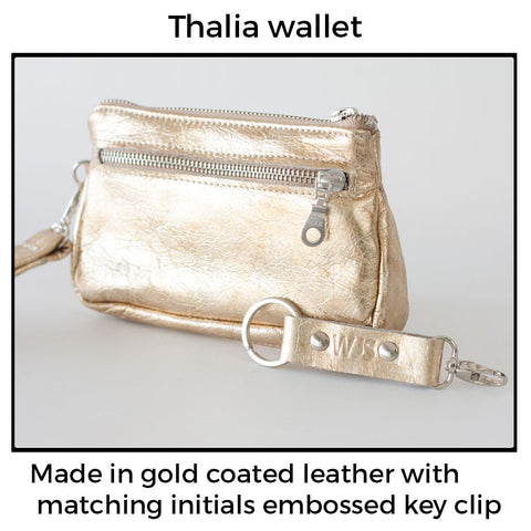 Thalia wallet used as belt wallet by milloo bags