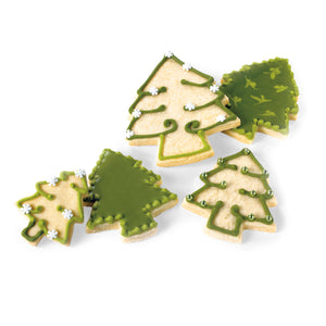 Snap-Fit Holiday Trees Cookie Cutter
