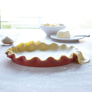 Ruffled pie dish - Grenade