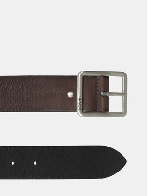 Cosmopolitan Reversible Rugged Belt - Brown/Black (sizes: 34, 36, 38, 40, 42)