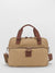 Oil-Finish Canvas Laptop Briefcase - Tan