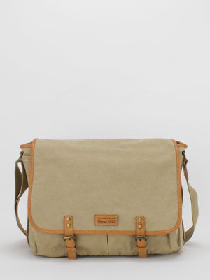 Vintage Canvas Laptop Messenger