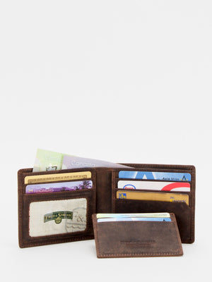 William RFID Blocking Leather Billfold