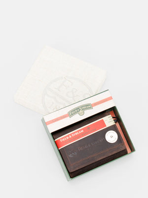 Thomas RFID Blocking Leather Tri-Fold