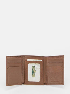 Riley RFID Blocking Leather Tri-Fold