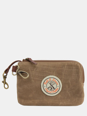 Oil-Finish Canvas Wallet Pouch