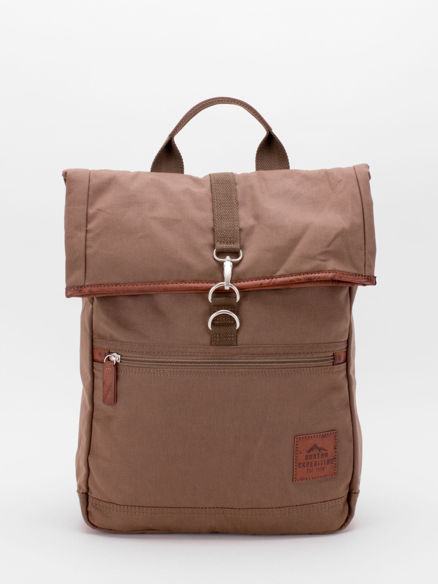 Expedition Fold Over Backpack - Tan