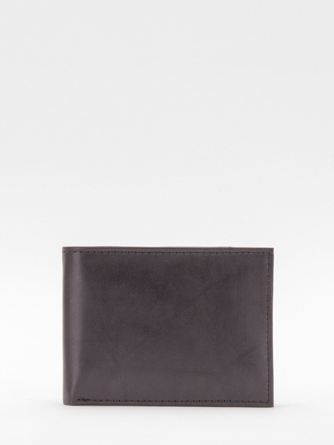 Benjamin ID Passcase Napa Leather Billfold - Black