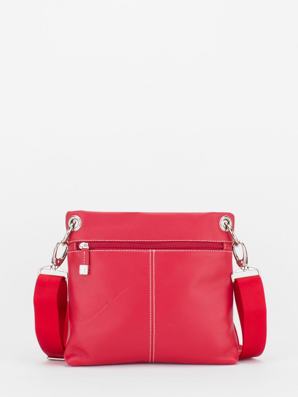 Coventry Leather Crossbody - Red