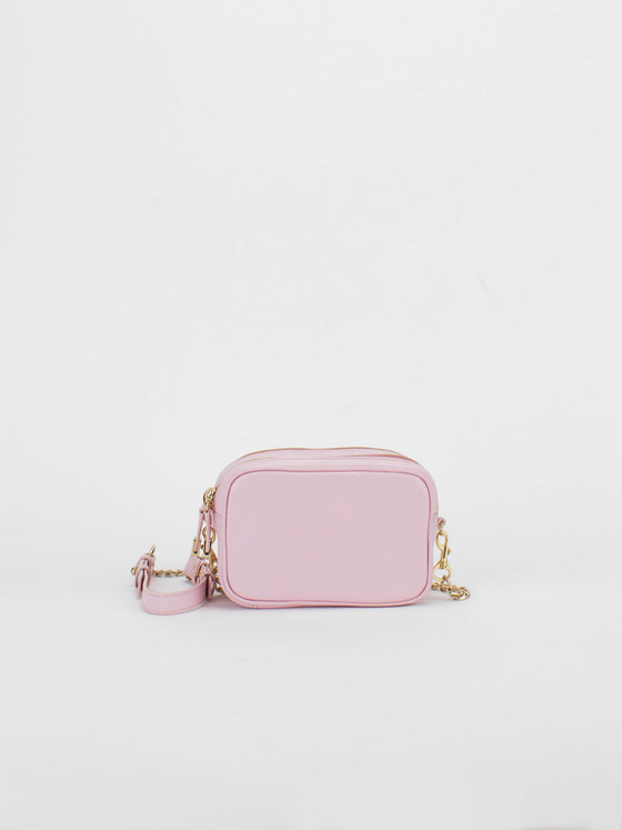 TIFFANY Leather Macaron Mini - Soft Pink
