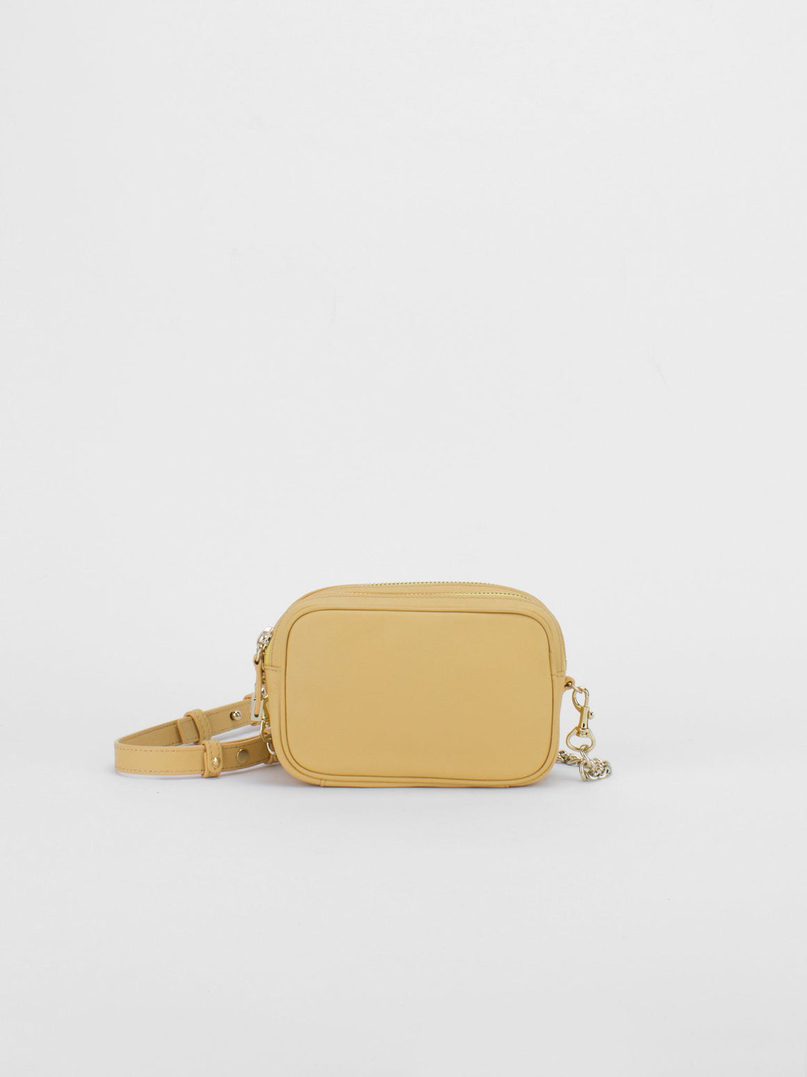 TIFFANY Leather Macaron Mini - Milk Yellow