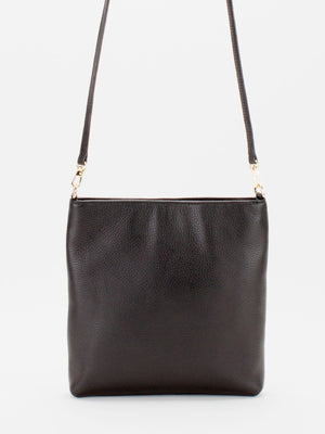 Bridget Leather Crossbody - Black