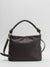 Susanna Leather Shoulder Bag - Black