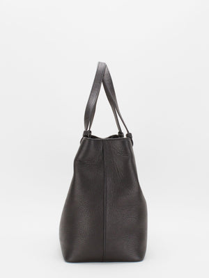 Kaitlyn Leather Tote - Black