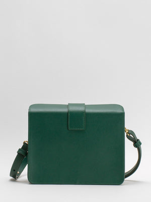 Sofia Leather Shoulder Bag - Green