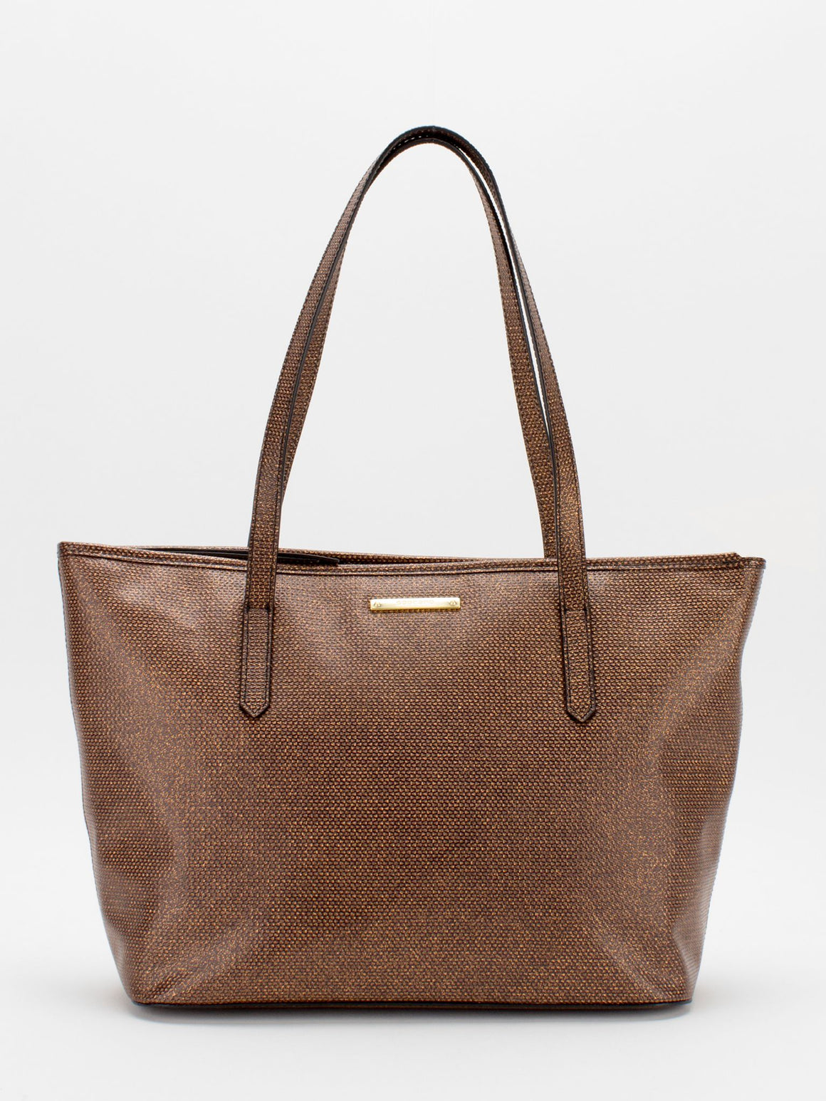 Molly Leather Tote - Bronze