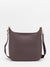 Renee Leather Crossbody Bag - Taupe Brown