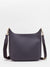 Renee Leather Crossbody Bag - Navy