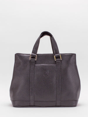 Adelaide Leather Satchel - Black