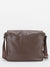 Chester Pebble Leather Messenger - Brown