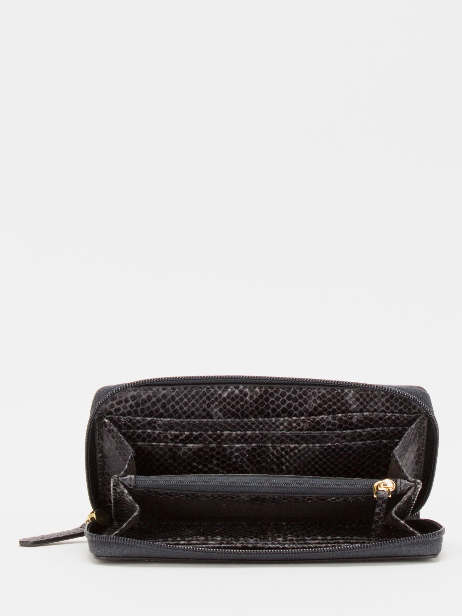 Gisele Python Zip Around Long Wallet