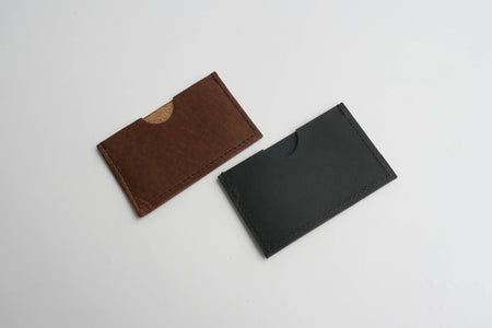 Charlie - Minimalist Card Holder with personalisation available