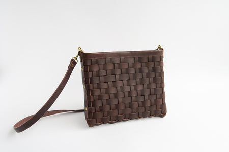 Joyce - Woven Mini Tote with magnetic closure