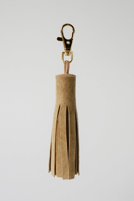 Tassel - Upcycled Suede