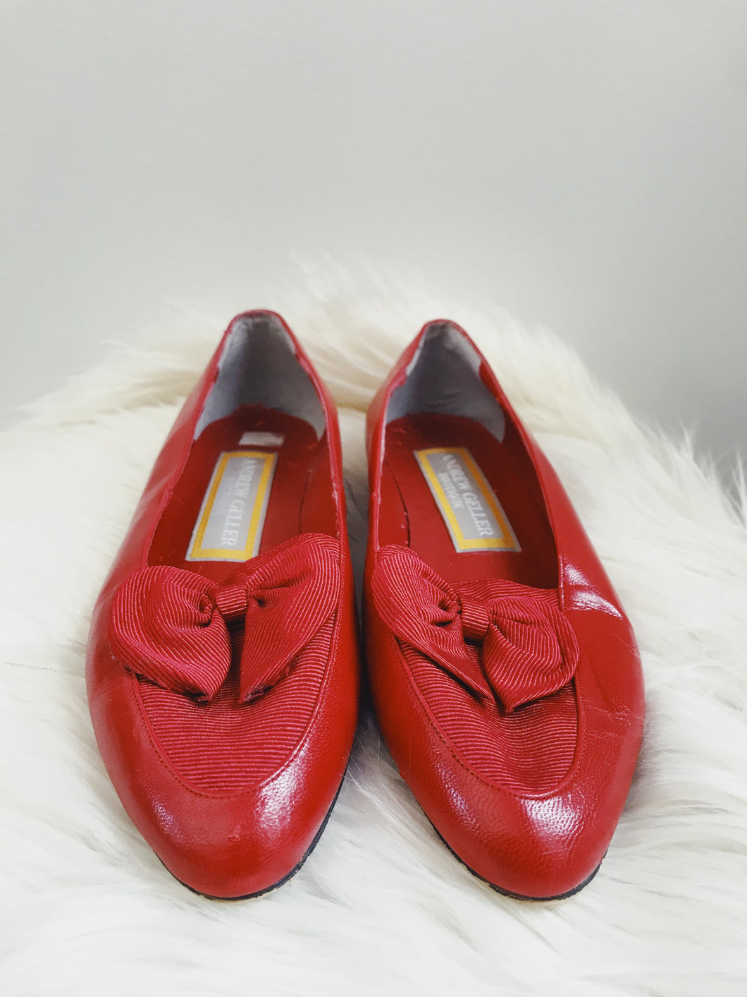 Red 80s flats