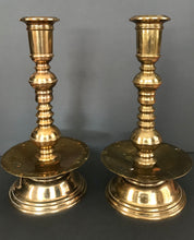 Load image into Gallery viewer, Brass Candlesticks