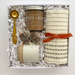 Fall Cocoa Hostess Gift Box