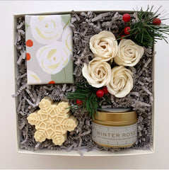 Holiday Winter Rose Gift Box Made in Oklahoma