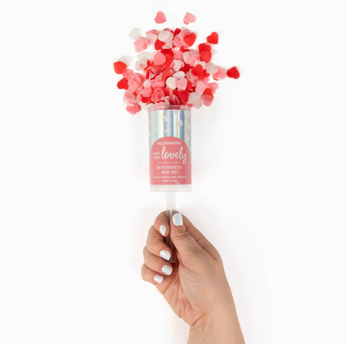 Bath Confetti Pop // Make Today Lovely