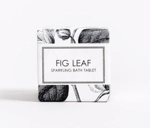 Sparkling Bath Tablet - Fig Leaf