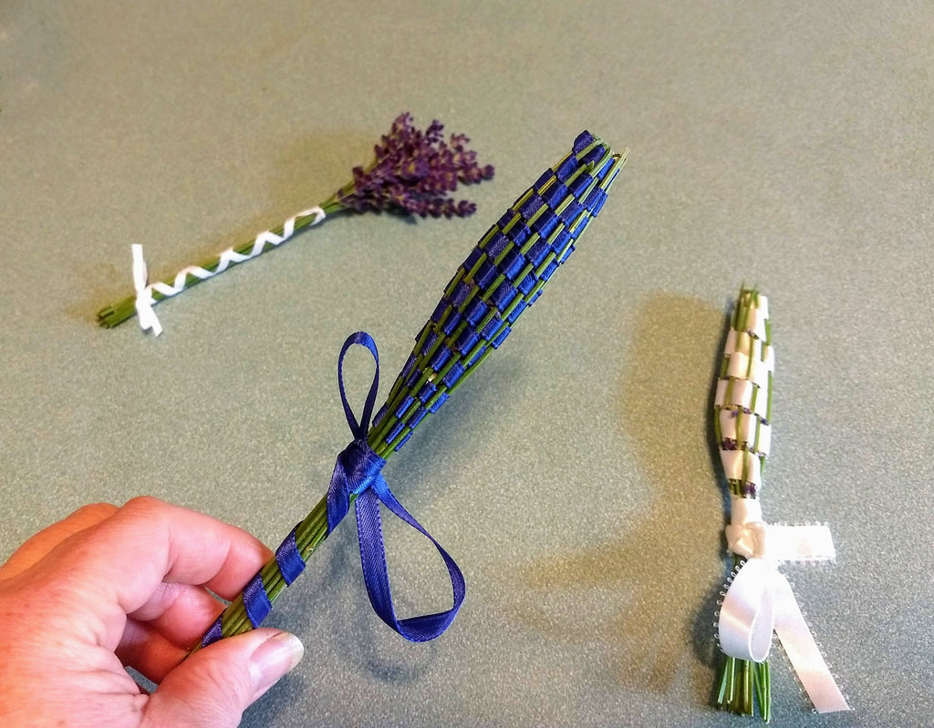 Our most current Blog post - How to make a Lavender Wand
