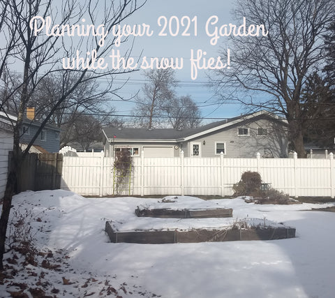 Garden Planning - Winter Activities - part 1