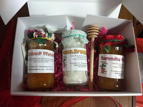 Herbed Honey and Sugar Gift