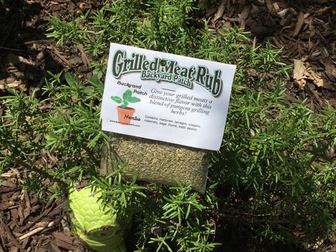 Grilled Meat Rub from Backyard Patch Herbs