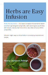 Book - Infusion - Herbs R Easy series