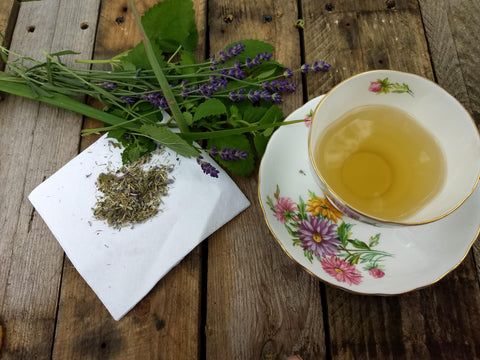 Lemon Lavender Splash Loose Herbal Tea, caffeine free