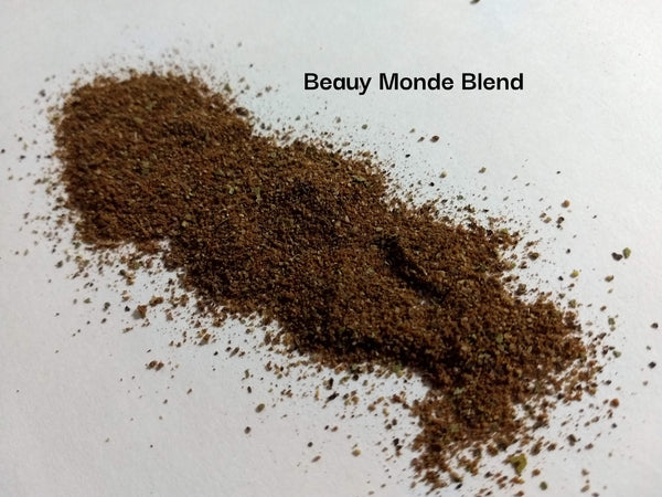 Beau Monde style seasoning, Beauy Monde, Backyard Patch Herb Blend, Vintage Spice, no salt
